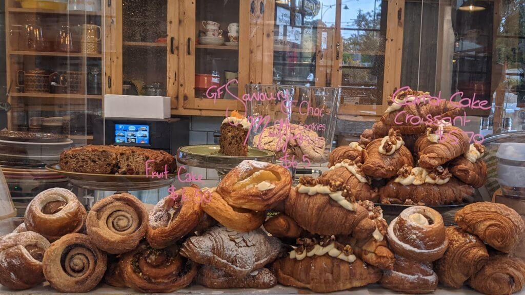 Croissant at the Uraidla Bakery